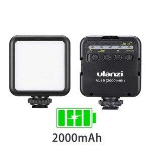 Image 5 - Ulanzi Panel de luz LED de alta potencia para teléfono inteligente Canon y Nikon, luz LED Ultra brillante para vídeo con 3 Zapata, regulable, portátil