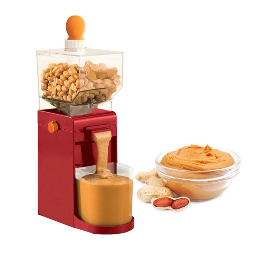 500ML Elektrische Grinder Erdnuss Tiefe-fried Peanut Butter Maker Cashews Haselnüsse Kaffee Schleifen Maschine Erdnuss Butter Grinder