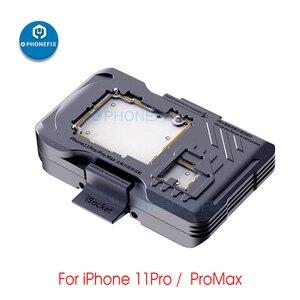 Image 5 - QIANLI iSocket pour iPhone X XS XSMAX 11 11Pro Max carte mère Test montage Double pont carte mère fonction testeur plate forme