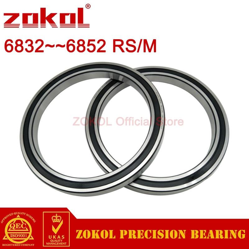 ZOKOL 6832 6834 6836 6838 6840 6842 6844 6848 6852M RS 2RS High quality Thin Wall Bearings Deep Groove ball bearing