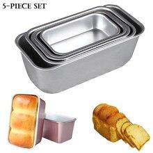 Антипригарная форма из алюминиевого сплава для торта, коричневого сыра, хлеба, ломтиков, противней, посуды для выпечки, кухонный инструмент ...