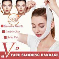 1 piezas cuidado Facial Chin mejilla belleza cinturón de adelgazamiento V-línea cara elevación máscara vendaje cara shaper