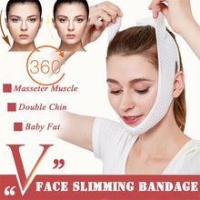 1Pcs Facial Care Chin Cheek Beauty Slimming Belt V-Line Face