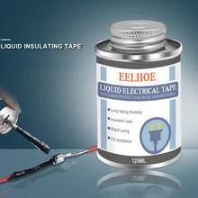 125ml de isolamento líquido fita elétrica tubo colar anti-uv seco impermeável rápida isolamento eletrônico fix vedação borracha