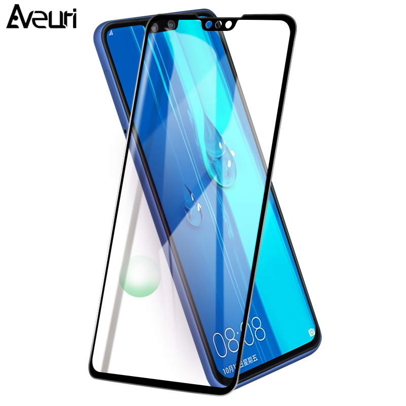9D <font><b>Protective</b></font> Tempered <font><b>Glass</b></font> For <font><b>Huawei</b></font> Y5 <font><b>Y6</b></font> Y7 Y9 Prime 2019 <font><b>Y6</b></font> Y7 Prime Y9 <font><b>2018</b></font> Honor 8A Full Cover 9H Screen Protector image