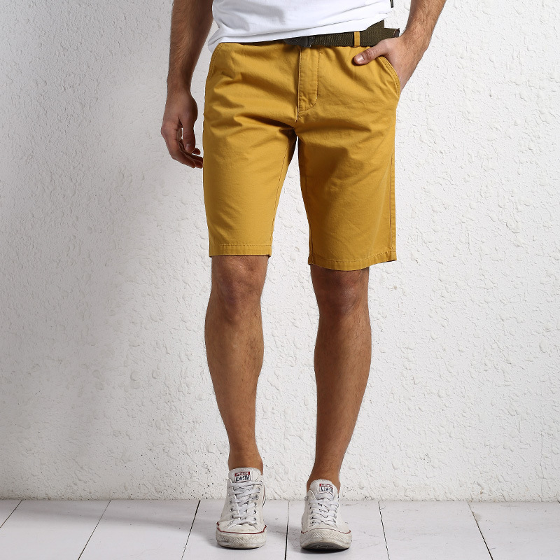 2018 Summer New Style Nian Jeep Casual Shorts Men's Pure Cotton Capri Multi-pockets Workwear Short Men's Trousers