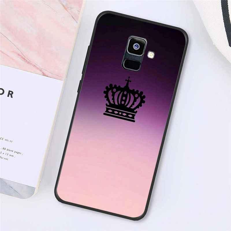 Babaite Putri Mahkota Ratu Phone Case untuk Samsung Galaxy A7 A50 A70 A40 A20 A30 A8 A6 A8 Plus A9 a51 A71