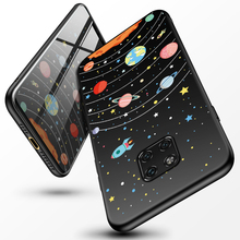 Silicone Space Star Case For Huawei Mate 20 Pro Cover Lite Honor 8x 10 P Smart Y9 2019 P20 Phone