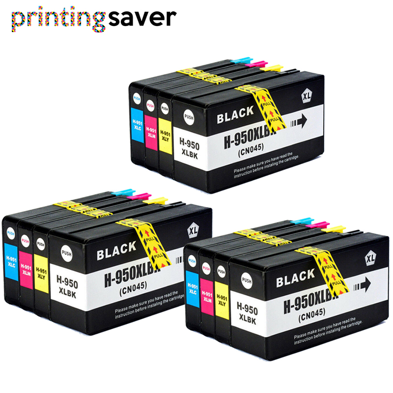 12 Compatible for HP 950XL 951XL ink cartridges Officejet 8615 8620 8625 8630