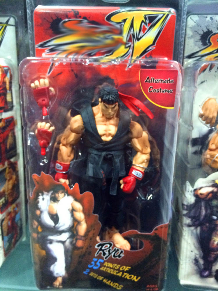 Street Fighter IV Action Figures 18cm 11