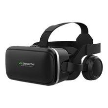 цена на Immersive VR Glasses Headset Box Virtual Reality Mobile 3D Video Helmet 6 Generation Stereo Cardboard