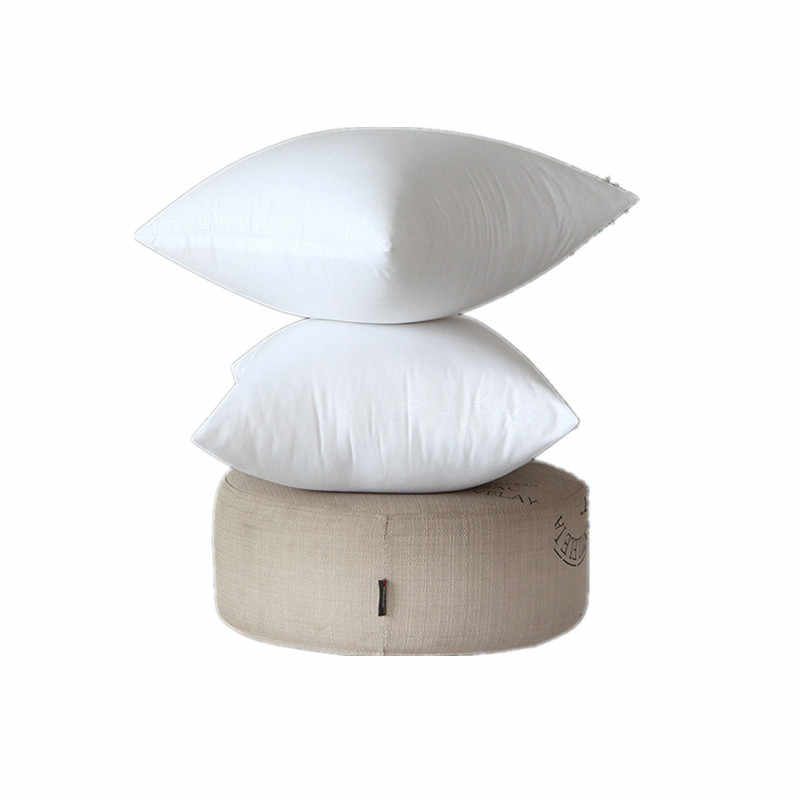 Klasyczny 11 rozmiar solidna czysta poduszka rdzeń na sofę śmieszne miękkie poduszki wypełnienie z bawełny Pp dostosowane opieki zdrowotnej poduszka wypełnienie 45x45
