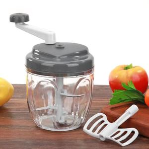 Manual Food Chopper Household Vegetable Shredder Mincer Kitchen Gadget Multifunction Food Processor Meat Machine Crusher