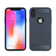 Scratch Resistant Shock Absorption Anti Skid TPU+PC Phone Case For iPhone X 5.8Shock Proof