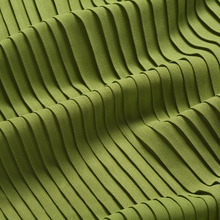 Yarn-Fabric Pleated Wedding-Dress Accordion Black White Blue Green 150cm-Width Crumple