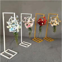 New type of wedding props tieyi geometry road lead the flower on the catwalk flower device sen department wedding road guide сумка diesel 56745 illusion on the road