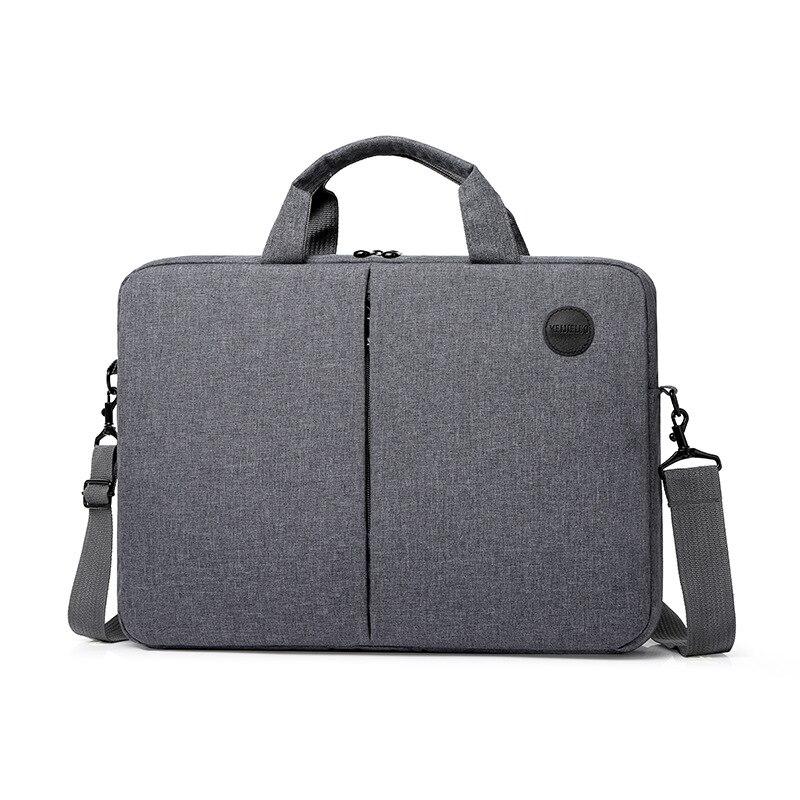 Portable 15.6-inch Briefcase Business Computer Handbag For Men And Women Waterproof Laptop Large Capacity Messenger Shoulder Bag