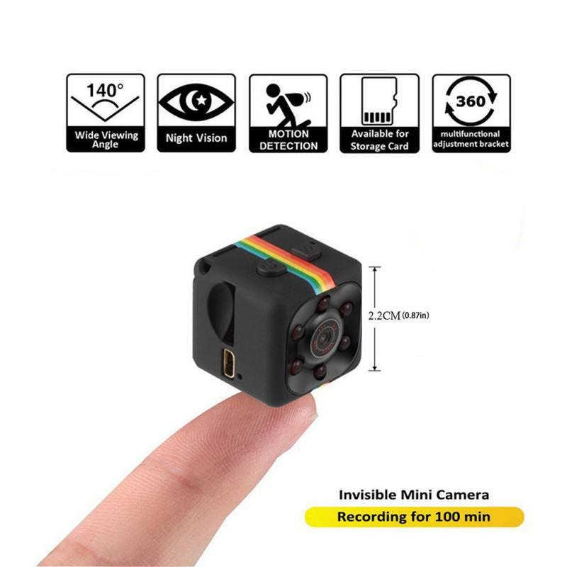Новая микрокамера SQ11 480 P/1080 P мини-камера для спорта DV инфракрасная камера ночного видения Автомобильная Цифровая видеокамера