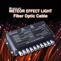 Fiber Optic Kabel Meteor Wirkung Licht Fahrer 5W Schießen Sterne Motor RF Fernbedienung PMMA LED Atmosphäre lampe für dekorative
