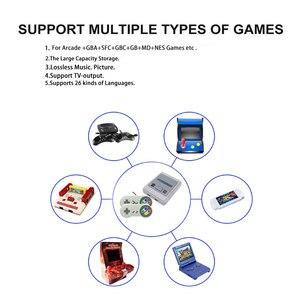 Image 2 - 4K 64bit HD dla Arcade Mini konsola do gier TV wideo Retro wbudowana 1600 Plus gry przenośna konsola do gier zapisz postęp gry prezent