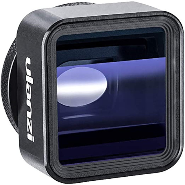 Ulanzi 1.33X Anamorphic Lens Filmmaking Phone Camera Lens Widescreen Movie Lens by Filmic Pro App for iPhone 11 Pro Max Pixel 4