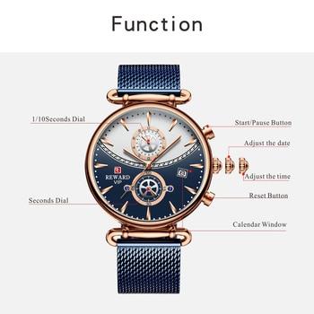 Premio a los nuevos relojes para hombres, de marca superior, reloj deportivo de cuarzo azul de lujo para hombres, reloj Masculino resistente al agua de Reloj De Pulsera De Negocios completo