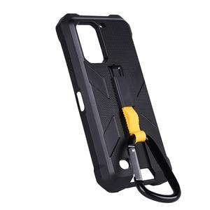Image 3 - Multifuncional caso protetor para ulefone armadura 7 7e original tpu preto para ulefone armadura 7 7e com clipe de volta mosquetão