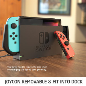 Image 2 - Dockable Case For Nintendo Switch Mumba Blade Series TPU Grip Cover Compatible with Nintendo Switch Console & Joy Con Controller