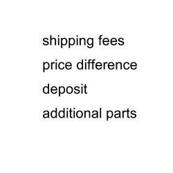 Opłaty za wysyłkę różnica w cenie depozyt dodatkowe opłaty za części link
