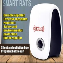 Ultrasonic Pest Repeller Mosquito Silent And Pollution Mouse Repeller Principle Rodent Proof Insect Electronic Repellent useful ultrasonic electronicrepeller new white riddex plus electronic pest rodent control eepeller 220v