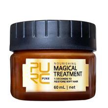 Глубокое восстановление, маска для волос, питание, мягкий кондиционер, Паровая Очищающая маска для волос, горячая краска, масло 60 мл