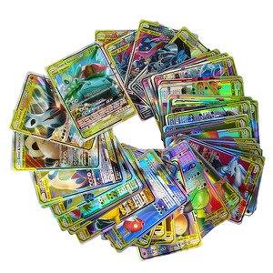 Image 4 - Hoge Kwaliteit 10 300 Pcs Kaarten Tag Team Gx Ex Mega Kaarten Engels Kaarten Speelgoed Voor Kids Gift