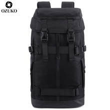 OZUKO New Large Capacity Men Backpack European and American style Multifunction Male Out Door Travel Bag Waterproof Mochila 2019