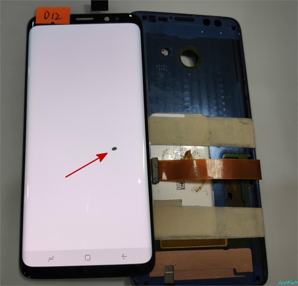 NO D12 For Samsung Galaxy S9 G960 G960F Defect Lcd Display With Touch Screen Digitizer Super