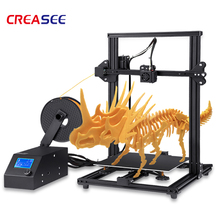 Creasee 3D Printer CS10S High precision Metal 3D Printer DIY Kit Self-assemble with Upgrade Resume Printing Size 300*300*400mm newest anet a6 a8 e10 3d printer large printing size easy assemble precision reprap i3 3d printer kit diy with free filaments