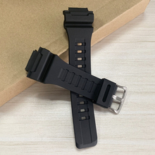 Rubber Watch Strap Band for SGW-300H 400H 500H MRW-200H AE-1000W AE-1300 AE-1200 W-S200H W-800H W-216H W-215 AEQ-110W Wacthband цена и фото