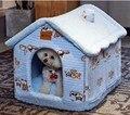 Домик для собак Теплый зимой, всесезонный домик общего типа моющийся для кошек, закрытый домик для собак, товары