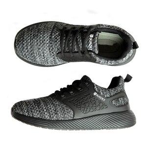 Image 2 - Защитные рабочие ботинки MWSC для мужчин, рабочие ботинки со стальным носком, неразрушаемые защитные ботинки, мужские защитные кроссовки