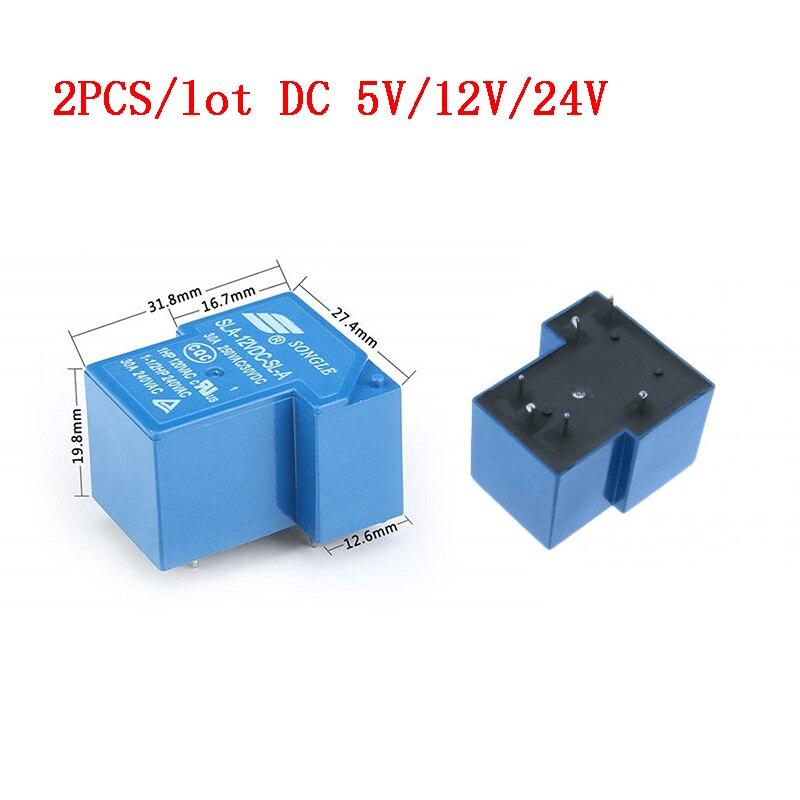 5pcs DC SLA-05VDC-SL-A 5V SONGLE Power Relais PCB Typ Neu