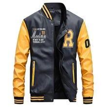 Winter Jacket Men Embroidery Baseball Jackets