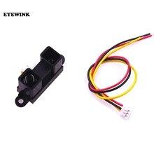 Gp2y0a21yk0f 10 80cm gp2y0a02yk0f 20 150cm sensor de proximidade infravermelho ir analógico sensor de distância