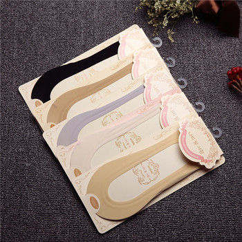 Ice Silk Boat Socks Solid Color Female Invisible Seamless Super Shallow Silicone Short Socks  Female Low Cut Ankle Summer Sock fashion women lace antiskid socks 5pairs lot female invisible low cut socks slippers shallow mouth summer ankle heal short sock