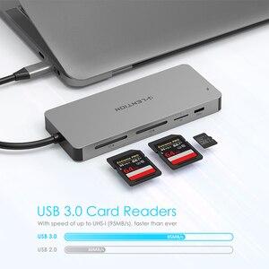 Image 2 - Lention USB HUB إلى متعدد USB 3.0 HDMI محول حوض ل ماك بوك برو 13.3 اكسسوارات USB C نوع C 3.1 الفاصل 11 ميناء USB C HUB
