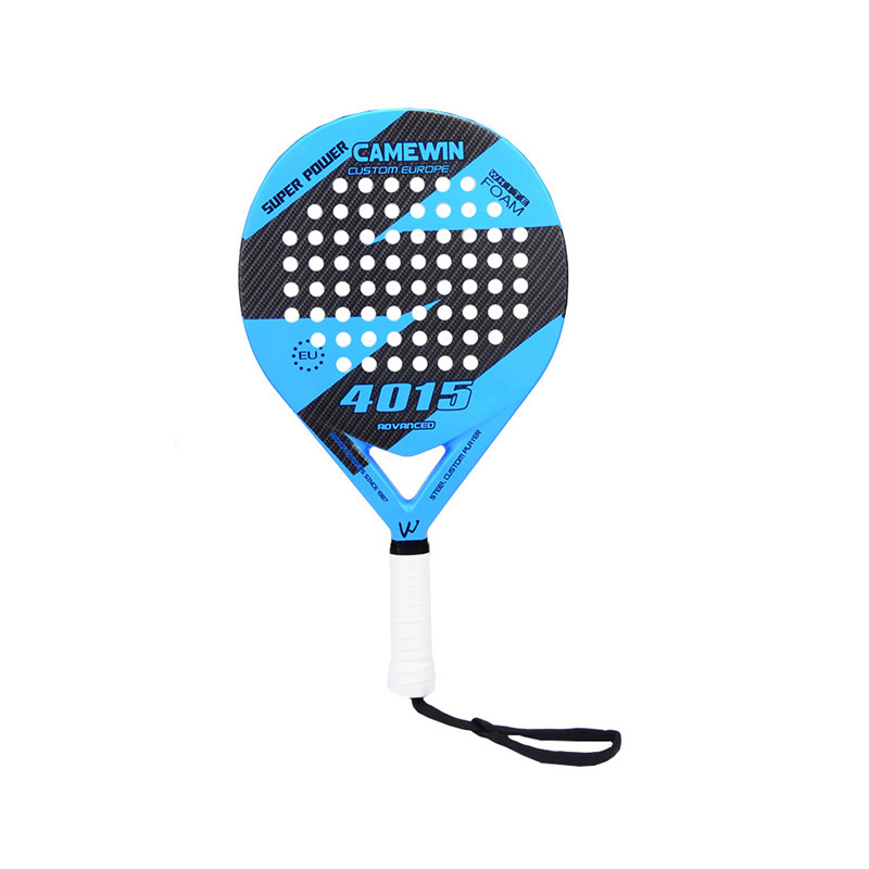 US $32 9 36% OFF|New Carbon Fiber Padel Tennis Racket Men Women New Popular  Sport Soft Face Tennis Paddle Racquet with Paddle Bag Cover-in Tennis