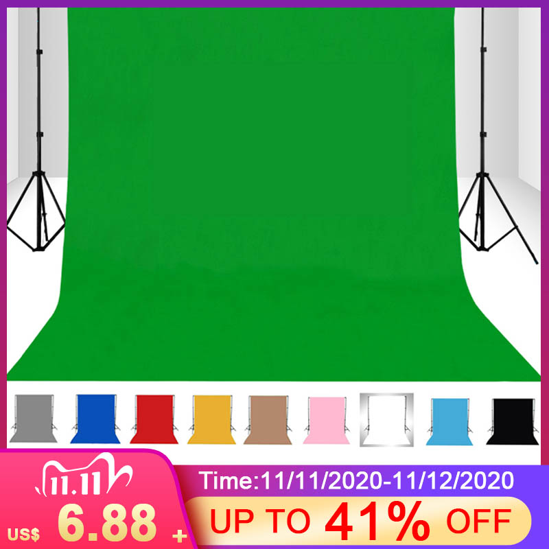 1.5X 1/2/3/4 м метр фотостудия зеленый Экран хромакей фон для фото студия освещения нетканые 10 видов цветов