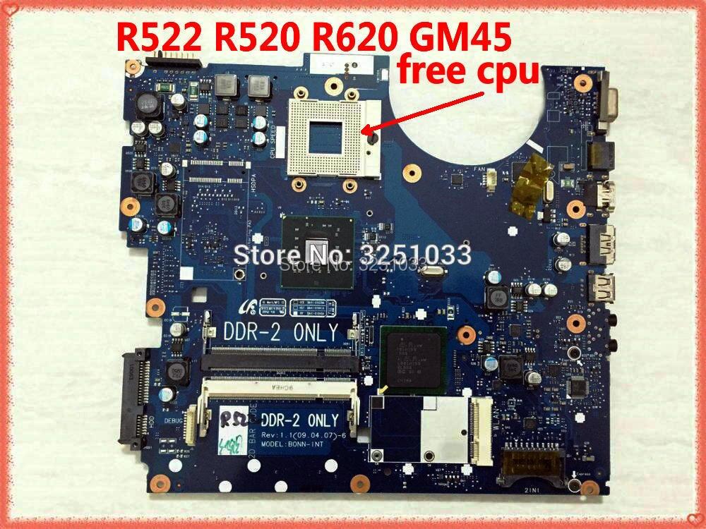 for Samsung R522 R520 Laptop Motherboard BA41-01039A BA41-01040A BA41-01041A BA92-05528A BA92-05528B BA92-05711A  GM45 DDR2