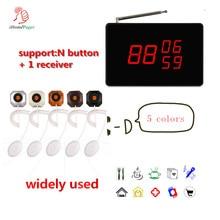 433,92 МГц Высококачественная Беспроводная система кнопок вызова с приемником, кнопка вызова медсестры для санатория, Beadhouse, больничная система вызова