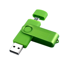 Quality Assurance 2 In 1 OTG USB Flash Drive 128GB 64GB Pen Drive 8GB 16GB 32GB Usbb memory stick 64gb pendrive flash drive