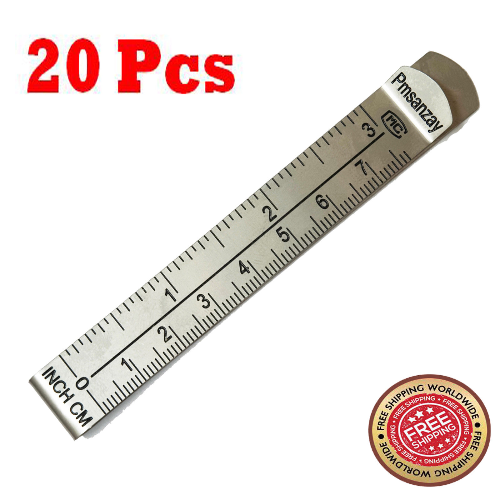 Hemming Clips 3 Inches Measurement Ruler Pinning Marking Sewing Wonder Clips Set