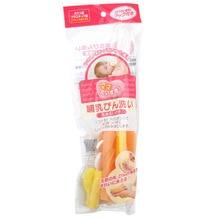 Импортированная из Японии Okazaki кормящая щетка для чистки бутылки чашка щетка для бутылочки для кормления 205429